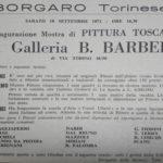 1971 - Galleria B. Barberis